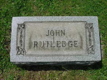RUTLEDGE, JOHN - Carroll County, Ohio   JOHN RUTLEDGE - Ohio Gravestone Photos