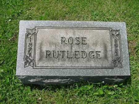 RUTLEDGE, ROSE - Carroll County, Ohio   ROSE RUTLEDGE - Ohio Gravestone Photos