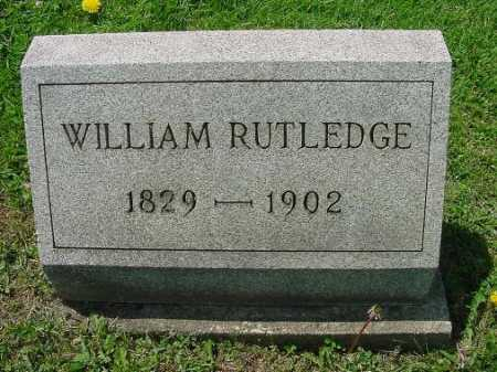 RUTLEDGE, WILLIAM - Carroll County, Ohio   WILLIAM RUTLEDGE - Ohio Gravestone Photos
