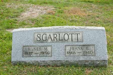 SCARLOTT, AGNES M. - Carroll County, Ohio | AGNES M. SCARLOTT - Ohio Gravestone Photos