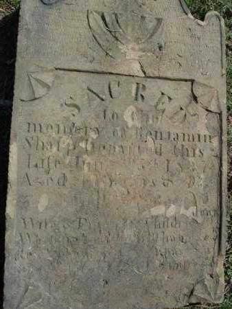 SHARP, BENJAMIN - Carroll County, Ohio   BENJAMIN SHARP - Ohio Gravestone Photos