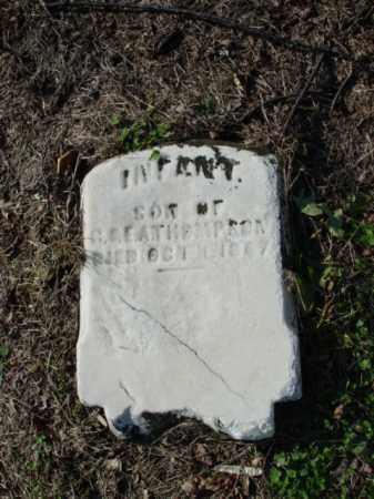 THOMPSON, INFANT SON - Carroll County, Ohio   INFANT SON THOMPSON - Ohio Gravestone Photos