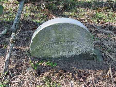 UNKNOWN, MARGARET - Carroll County, Ohio   MARGARET UNKNOWN - Ohio Gravestone Photos