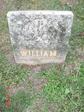 UNKNOWN, WILLIAM - Carroll County, Ohio | WILLIAM UNKNOWN - Ohio Gravestone Photos