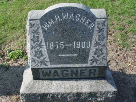 WAGNER, WM. H. - Carroll County, Ohio | WM. H. WAGNER - Ohio Gravestone Photos