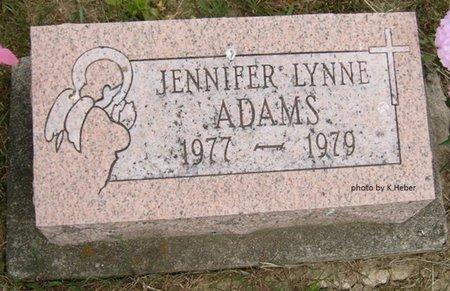 ADAMS, JENNIFER LYNNE - Champaign County, Ohio | JENNIFER LYNNE ADAMS - Ohio Gravestone Photos