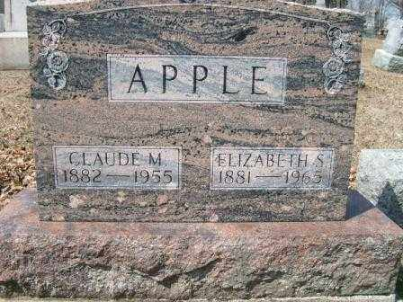 APPLE, CLAUDE M. - Champaign County, Ohio | CLAUDE M. APPLE - Ohio Gravestone Photos