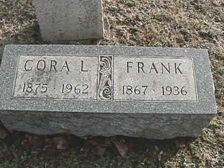 APPLE, CORA L. - Champaign County, Ohio | CORA L. APPLE - Ohio Gravestone Photos