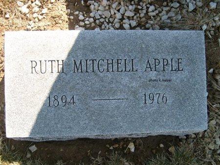 APPLE, RUTH ESTHERVILLE - Champaign County, Ohio   RUTH ESTHERVILLE APPLE - Ohio Gravestone Photos