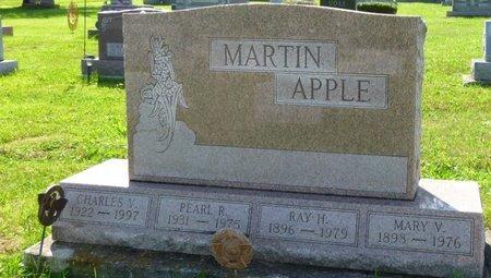 APPLE, MARY VIOLA - Champaign County, Ohio | MARY VIOLA APPLE - Ohio Gravestone Photos