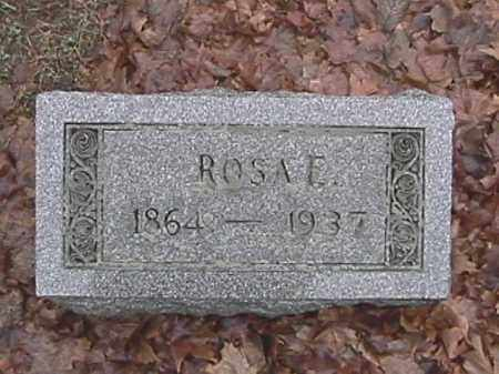 APPLE, ROSA ELLEN - Champaign County, Ohio   ROSA ELLEN APPLE - Ohio Gravestone Photos