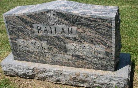 BAILAR, HARLEY - Champaign County, Ohio | HARLEY BAILAR - Ohio Gravestone Photos