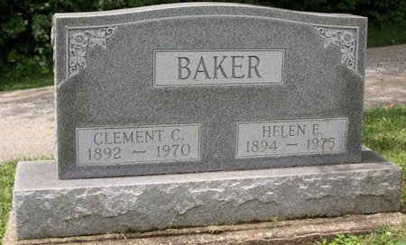 BAKER, CLEMENT CAROL - Champaign County, Ohio | CLEMENT CAROL BAKER - Ohio Gravestone Photos