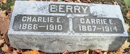 BERRY, CARRIE E - Champaign County, Ohio   CARRIE E BERRY - Ohio Gravestone Photos