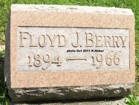 BERRY, FLOYD J - Champaign County, Ohio   FLOYD J BERRY - Ohio Gravestone Photos