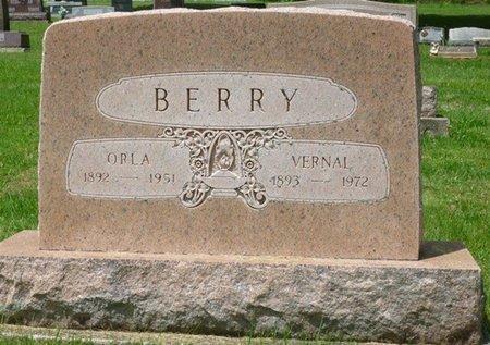 BERRY, ORLA CLEVELAND - Champaign County, Ohio   ORLA CLEVELAND BERRY - Ohio Gravestone Photos