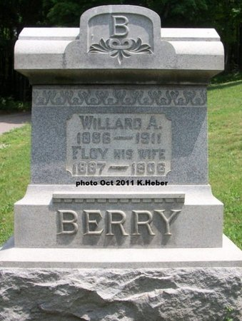 BERRY, FLOY MELISSA - Champaign County, Ohio | FLOY MELISSA BERRY - Ohio Gravestone Photos