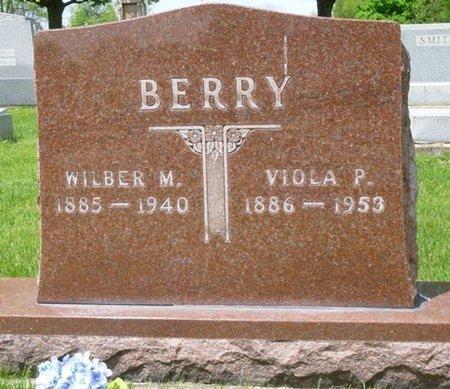 BERRY, WILBUR MONROE - Champaign County, Ohio | WILBUR MONROE BERRY - Ohio Gravestone Photos