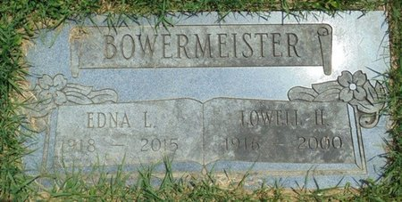 BISHOP BOWERMEISTER, EDNA LUCILLE - Champaign County, Ohio | EDNA LUCILLE BISHOP BOWERMEISTER - Ohio Gravestone Photos