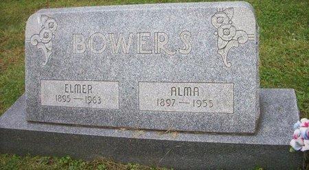 BOWERS, ELMER LEE - Champaign County, Ohio | ELMER LEE BOWERS - Ohio Gravestone Photos