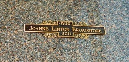 BROADSTONE, JOANNE LINTON - Champaign County, Ohio | JOANNE LINTON BROADSTONE - Ohio Gravestone Photos
