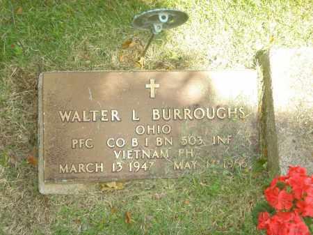 BURROUGHS, WALTER L. - Champaign County, Ohio   WALTER L. BURROUGHS - Ohio Gravestone Photos