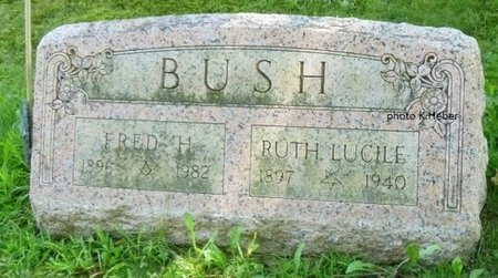 BUSH, FRED HOBART - Champaign County, Ohio | FRED HOBART BUSH - Ohio Gravestone Photos