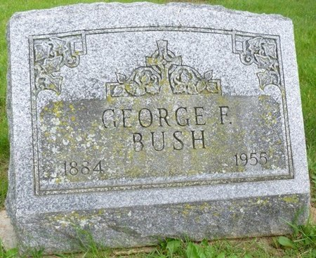 BUSH, GEORGE FERDINAND - Champaign County, Ohio | GEORGE FERDINAND BUSH - Ohio Gravestone Photos