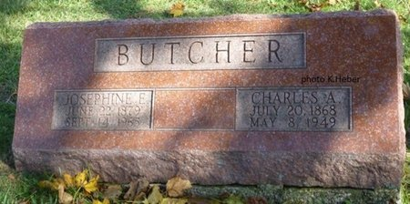 BUTCHER, CHARLES A - Champaign County, Ohio | CHARLES A BUTCHER - Ohio Gravestone Photos