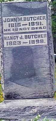 BUTCHER, JOHN M. - Champaign County, Ohio | JOHN M. BUTCHER - Ohio Gravestone Photos