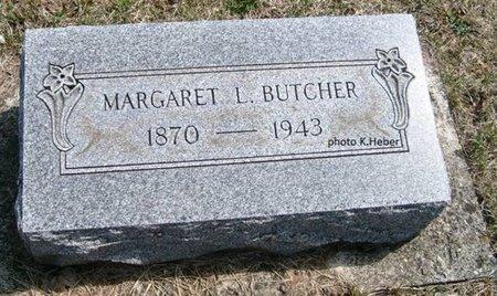 BUTCHER, MARGARET LUCINDA - Champaign County, Ohio   MARGARET LUCINDA BUTCHER - Ohio Gravestone Photos