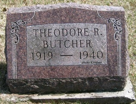 BUTCHER, THEODORE R - Champaign County, Ohio | THEODORE R BUTCHER - Ohio Gravestone Photos