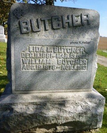 BUTCHER, WILLIAM - Champaign County, Ohio | WILLIAM BUTCHER - Ohio Gravestone Photos