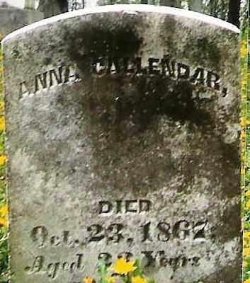 CALLENDAR, ANNA BUTCHER - Champaign County, Ohio | ANNA BUTCHER CALLENDAR - Ohio Gravestone Photos