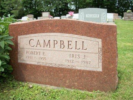 CAMPBELL, IRIS JOSEPHINE - Champaign County, Ohio | IRIS JOSEPHINE CAMPBELL - Ohio Gravestone Photos