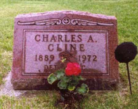 CLINE, CHARLES - Champaign County, Ohio | CHARLES CLINE - Ohio Gravestone Photos