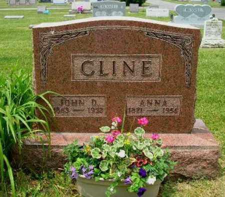 CLINE, ANNA - Champaign County, Ohio | ANNA CLINE - Ohio Gravestone Photos