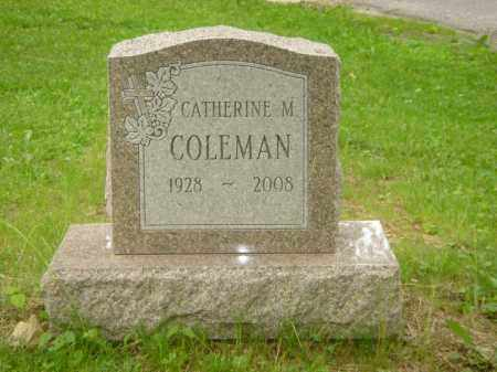 "COLEMAN, CATHERINE M. ""KATE"" - Champaign County, Ohio 