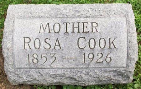 SIFERS COOK, ROSA - Champaign County, Ohio | ROSA SIFERS COOK - Ohio Gravestone Photos