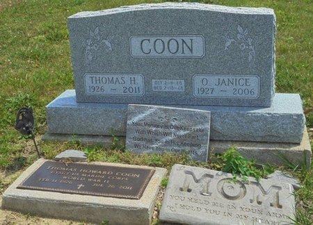 COON, THOMAS HOWARD - Champaign County, Ohio | THOMAS HOWARD COON - Ohio Gravestone Photos