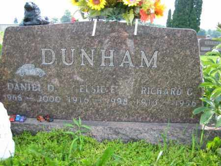 DUNHAM, ELSIE E - Champaign County, Ohio | ELSIE E DUNHAM - Ohio Gravestone Photos