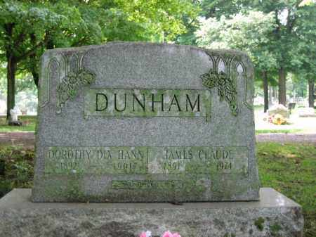 DUNHAM, DOROTHY DIX HANN - Champaign County, Ohio | DOROTHY DIX HANN DUNHAM - Ohio Gravestone Photos