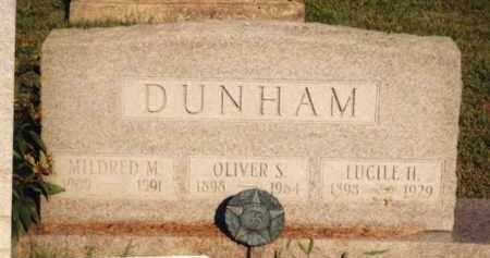 DUNHAM, MILDRED M. MIDLETON - Champaign County, Ohio | MILDRED M. MIDLETON DUNHAM - Ohio Gravestone Photos