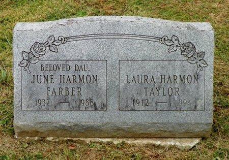 TAYLOR, LAURA - Champaign County, Ohio   LAURA TAYLOR - Ohio Gravestone Photos