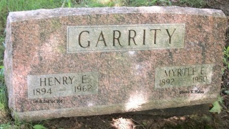 GARRITY, HENRY E - Champaign County, Ohio | HENRY E GARRITY - Ohio Gravestone Photos