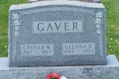 GAVER, GROVER W. - Champaign County, Ohio | GROVER W. GAVER - Ohio Gravestone Photos