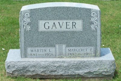 GAVER, MARTIN LUTHER - Champaign County, Ohio | MARTIN LUTHER GAVER - Ohio Gravestone Photos