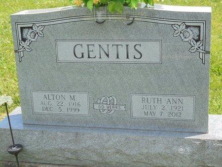 GENTIS, ALTON MERLIN - Champaign County, Ohio | ALTON MERLIN GENTIS - Ohio Gravestone Photos