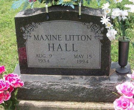 LITTON HALL, MAXINE HELEN - Champaign County, Ohio | MAXINE HELEN LITTON HALL - Ohio Gravestone Photos