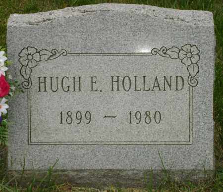 HOLLAND, HUGH EDWARD - Champaign County, Ohio | HUGH EDWARD HOLLAND - Ohio Gravestone Photos